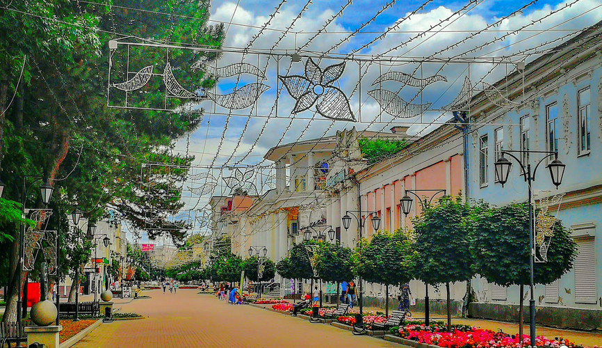 Первомайская улица, Черкесск
