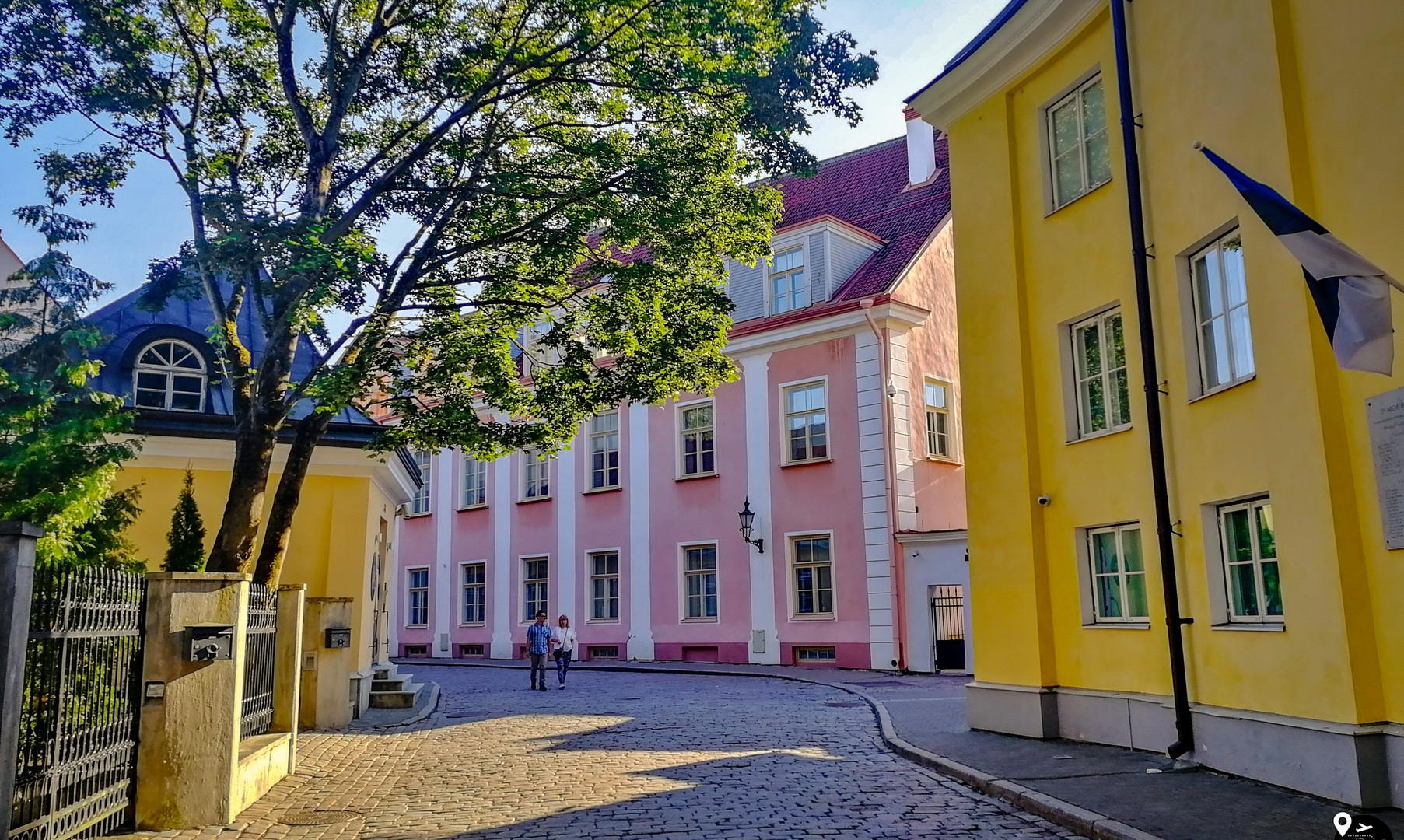 Верхний город, Таллин