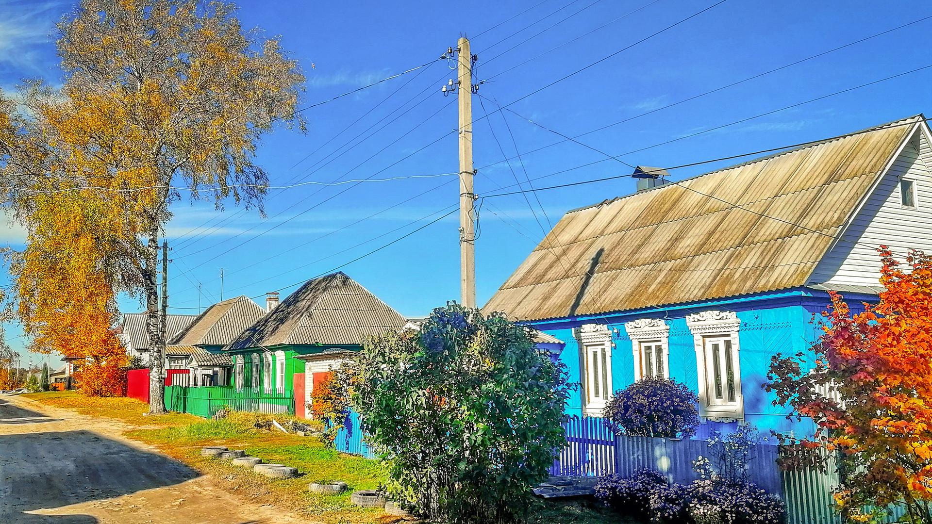 Деревня Дятьково в Брянской области