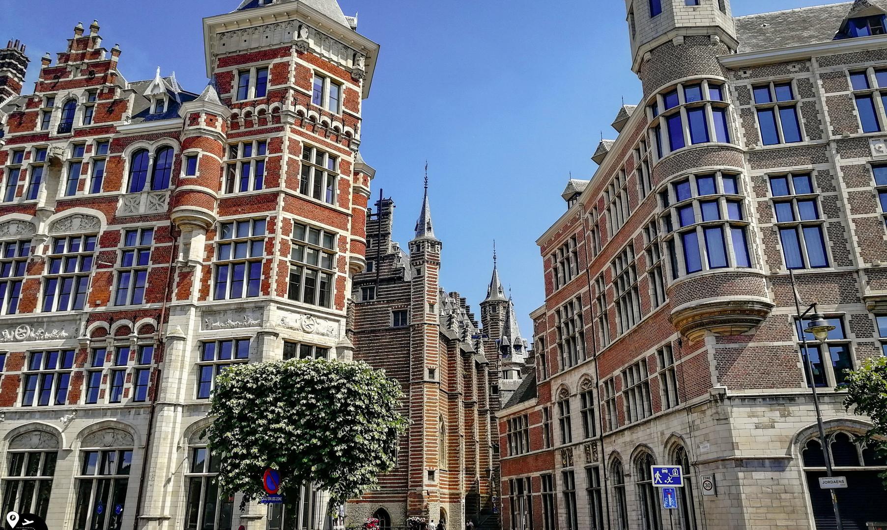 Комплекс жилых зданий, Антверпен