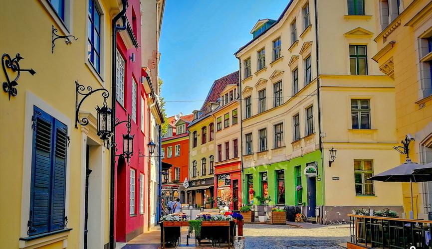 Старый город Риги
