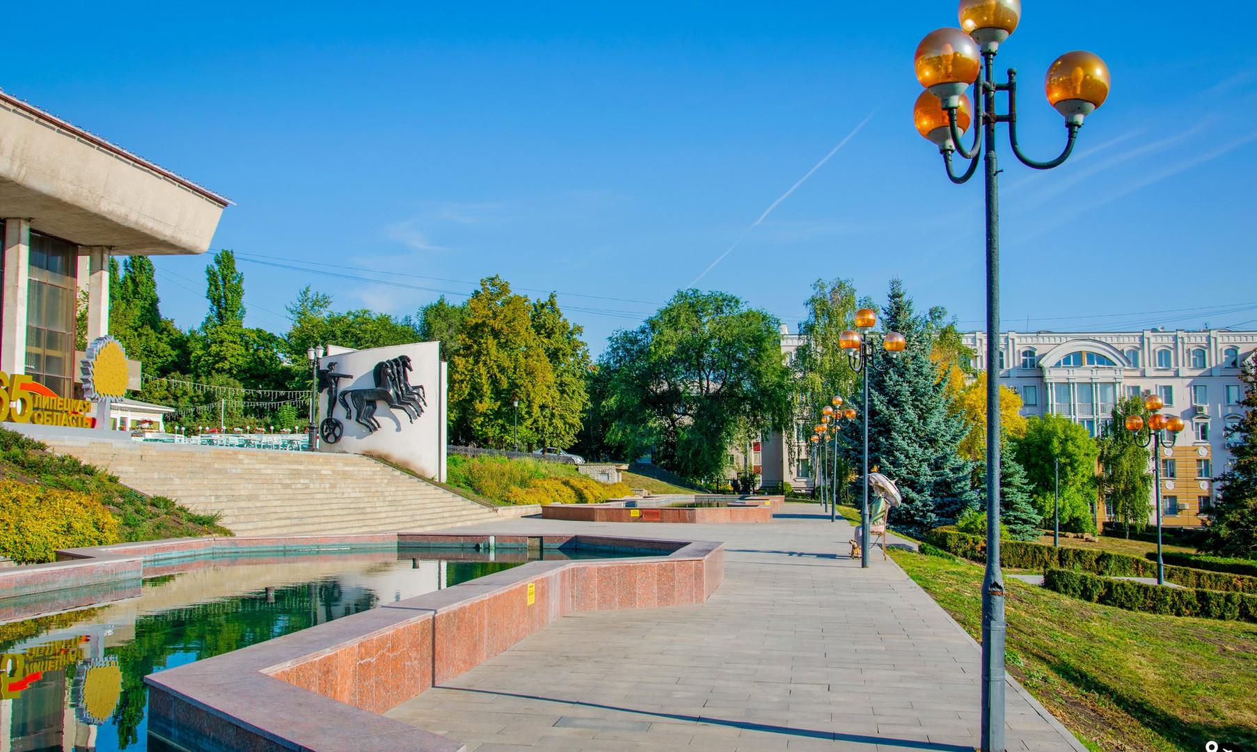 Театральная площадь, Липецк