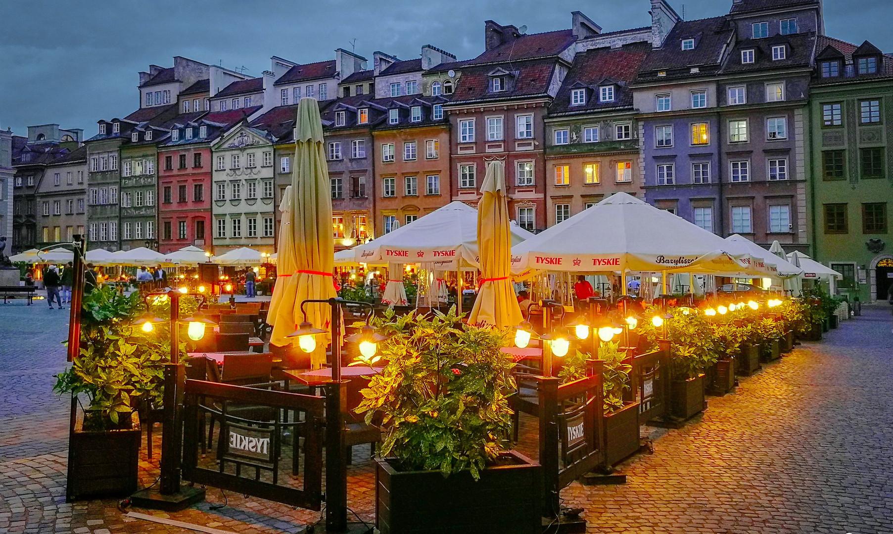 Центральная площадь старого города, Варшава
