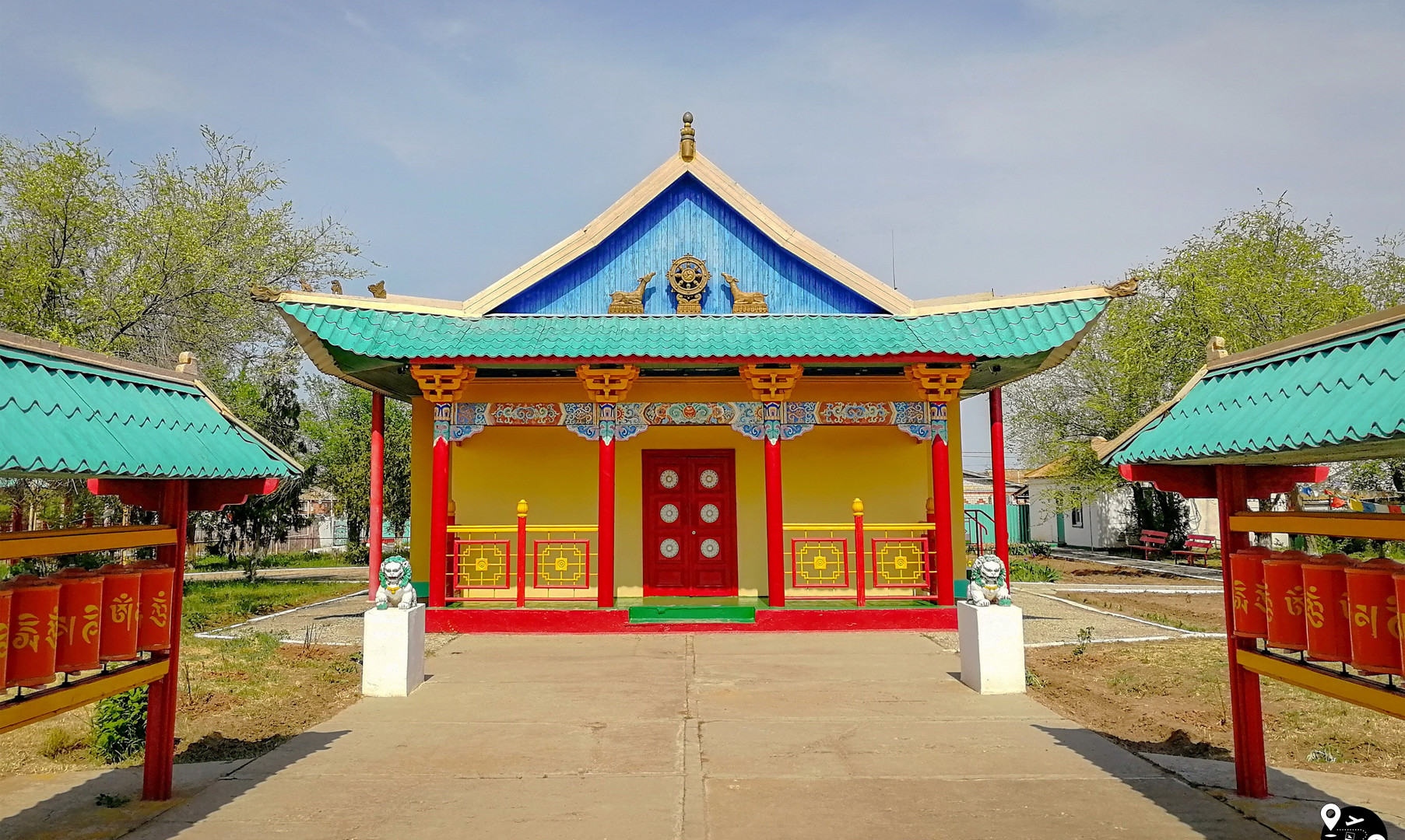 Буддийский хурул в Яшкуле