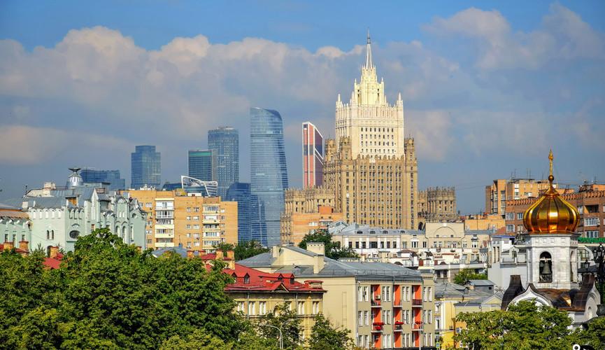 Панорама московских высоток