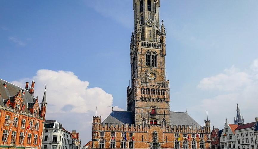 Башня Белфорт в Брюгге