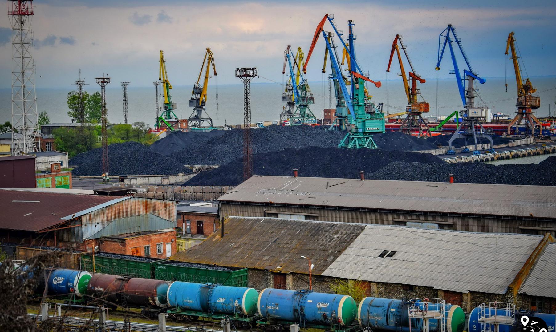 Морской порт Таганрога