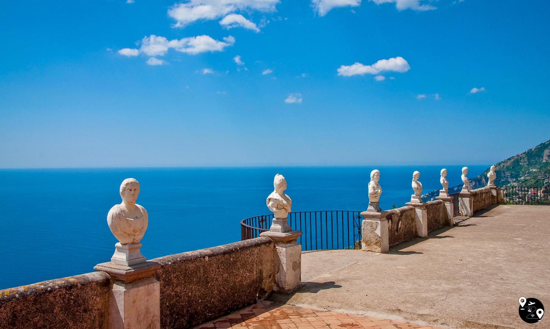 Равелло, Амальфитанское побережье