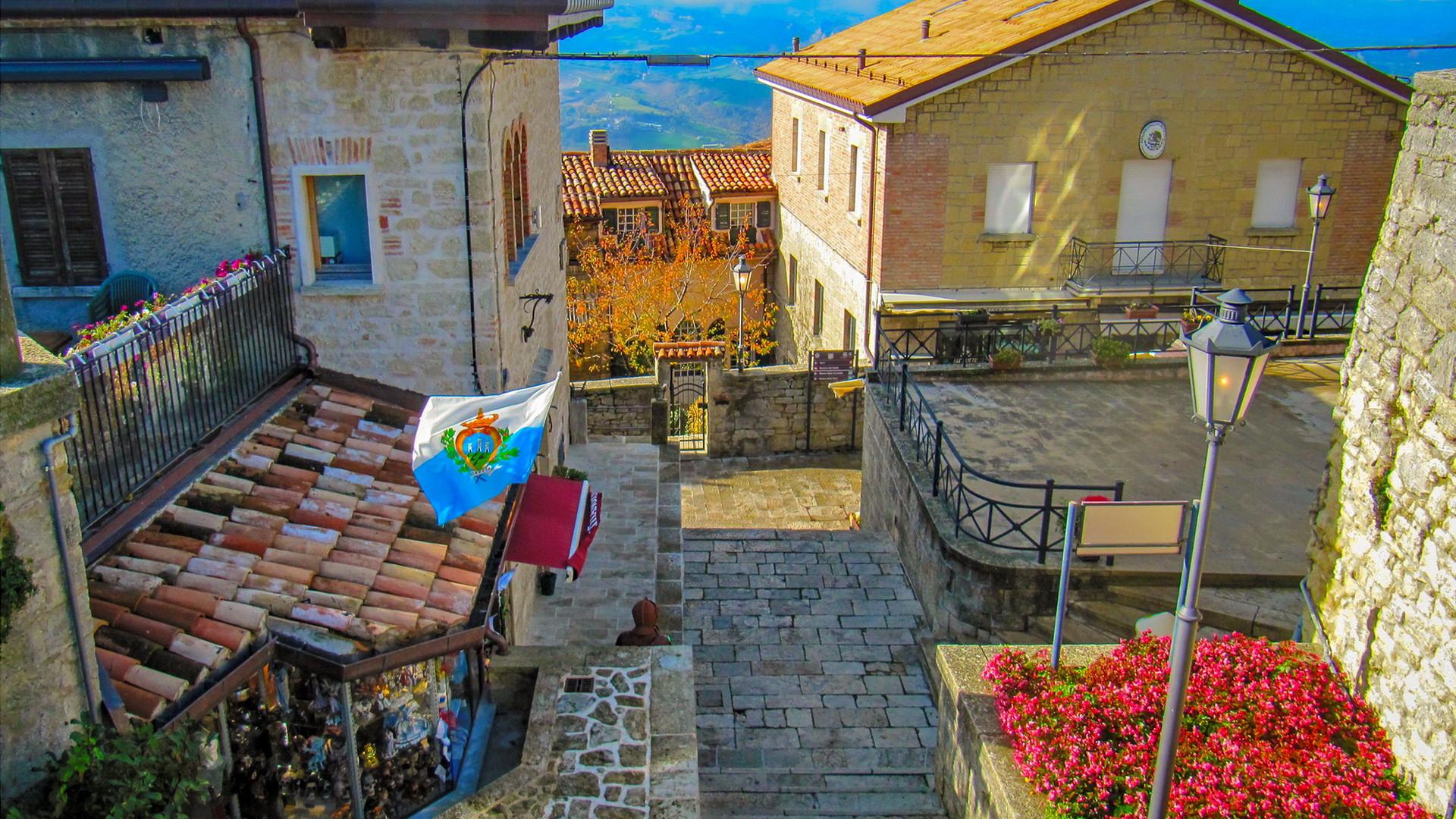 Старый город Сан-Марино