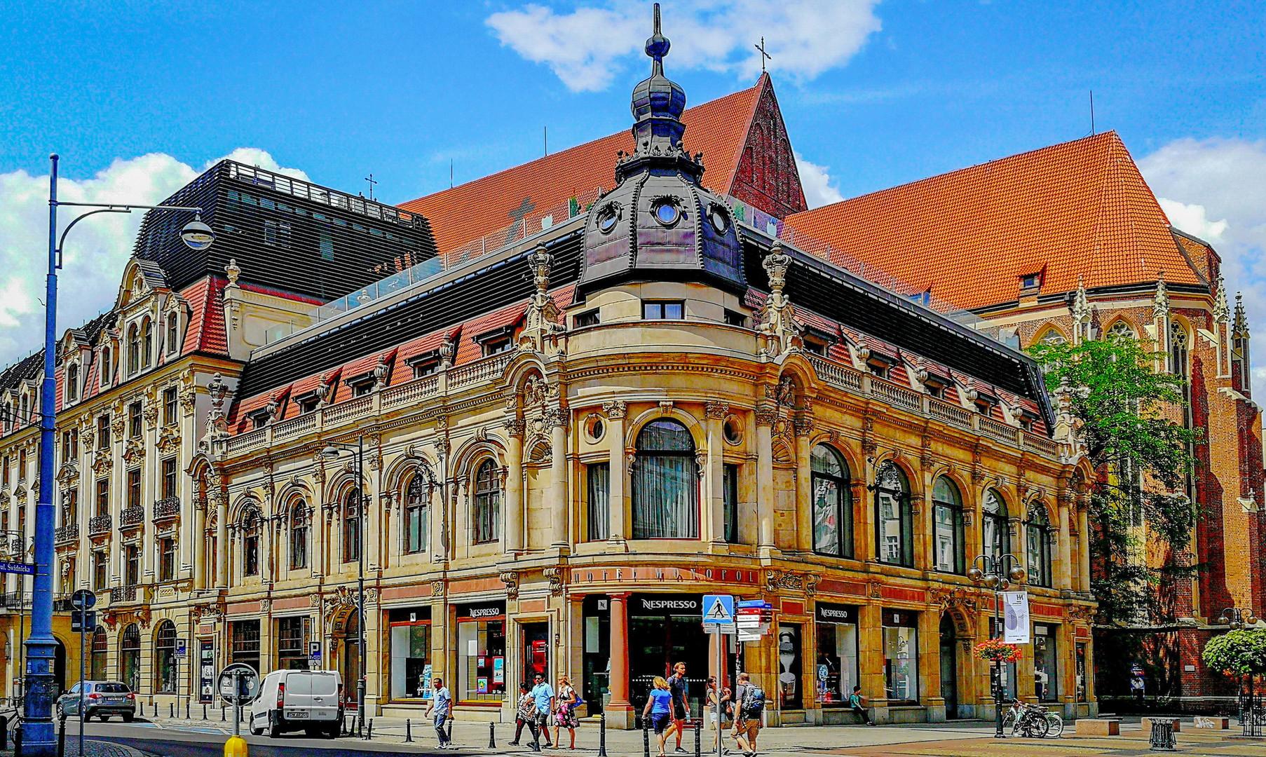 Центр города Вроцлав