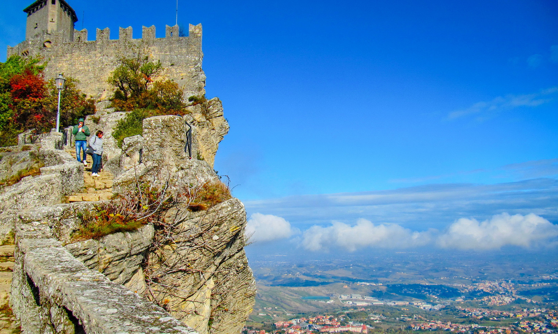 Крепостные стены крепости Гуаита