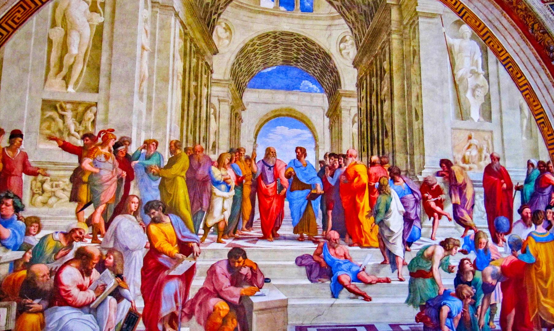Станцы Рафаэля в музеях Ватикана