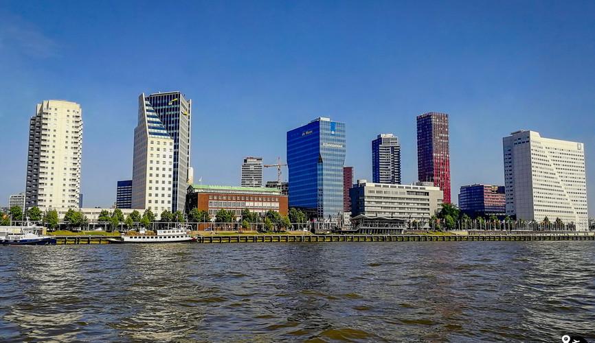 Современные кварталы Роттердама