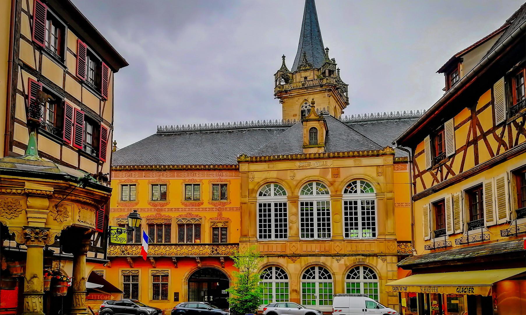 Центральная площадь, Оберне