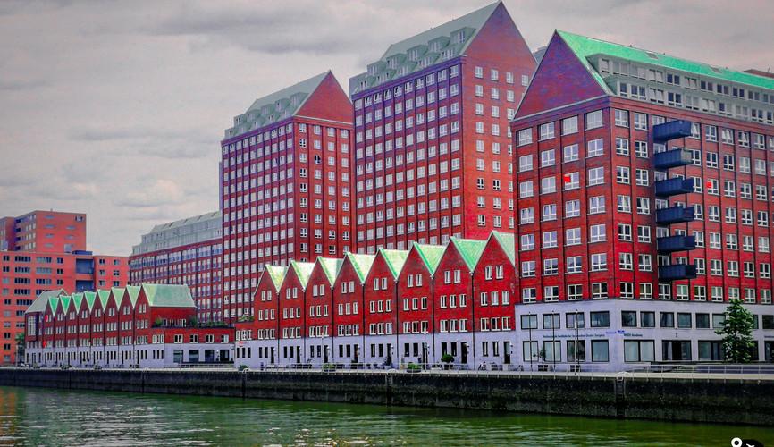 Деловой центр Роттердама