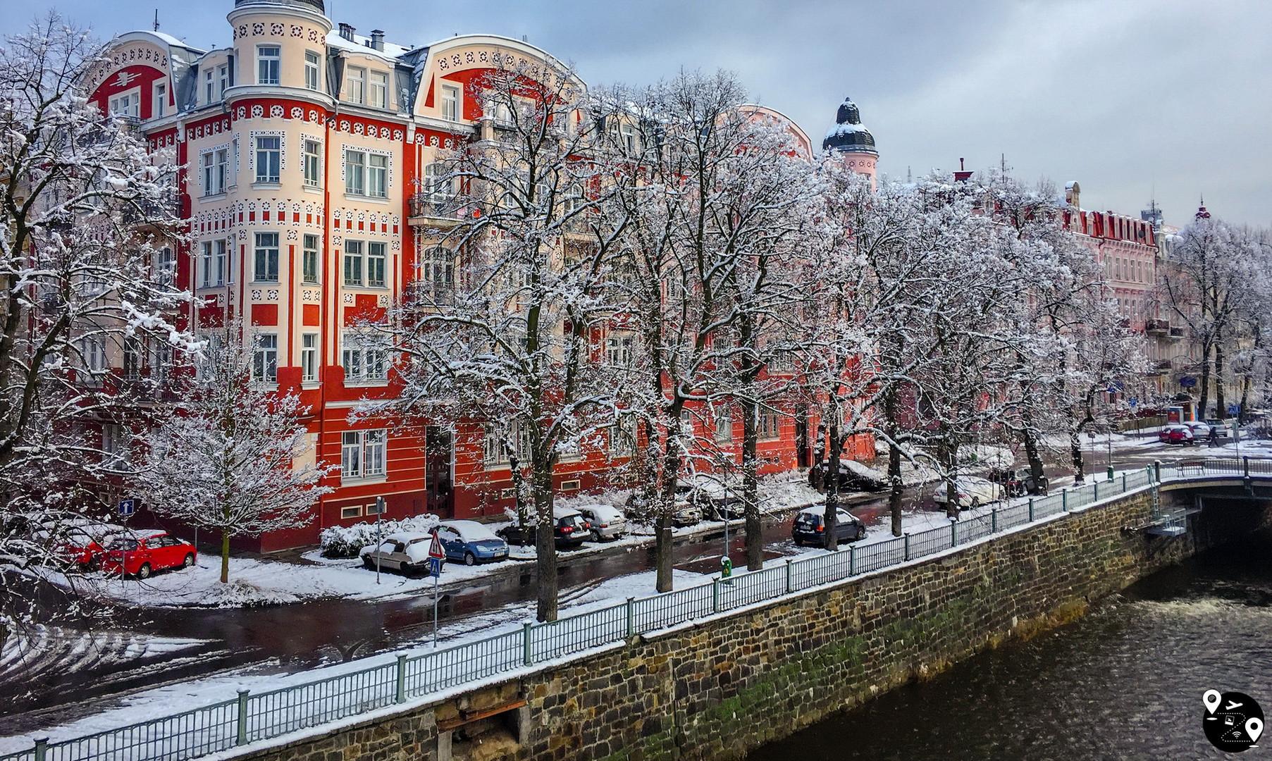 Центр города, Карловы Вары