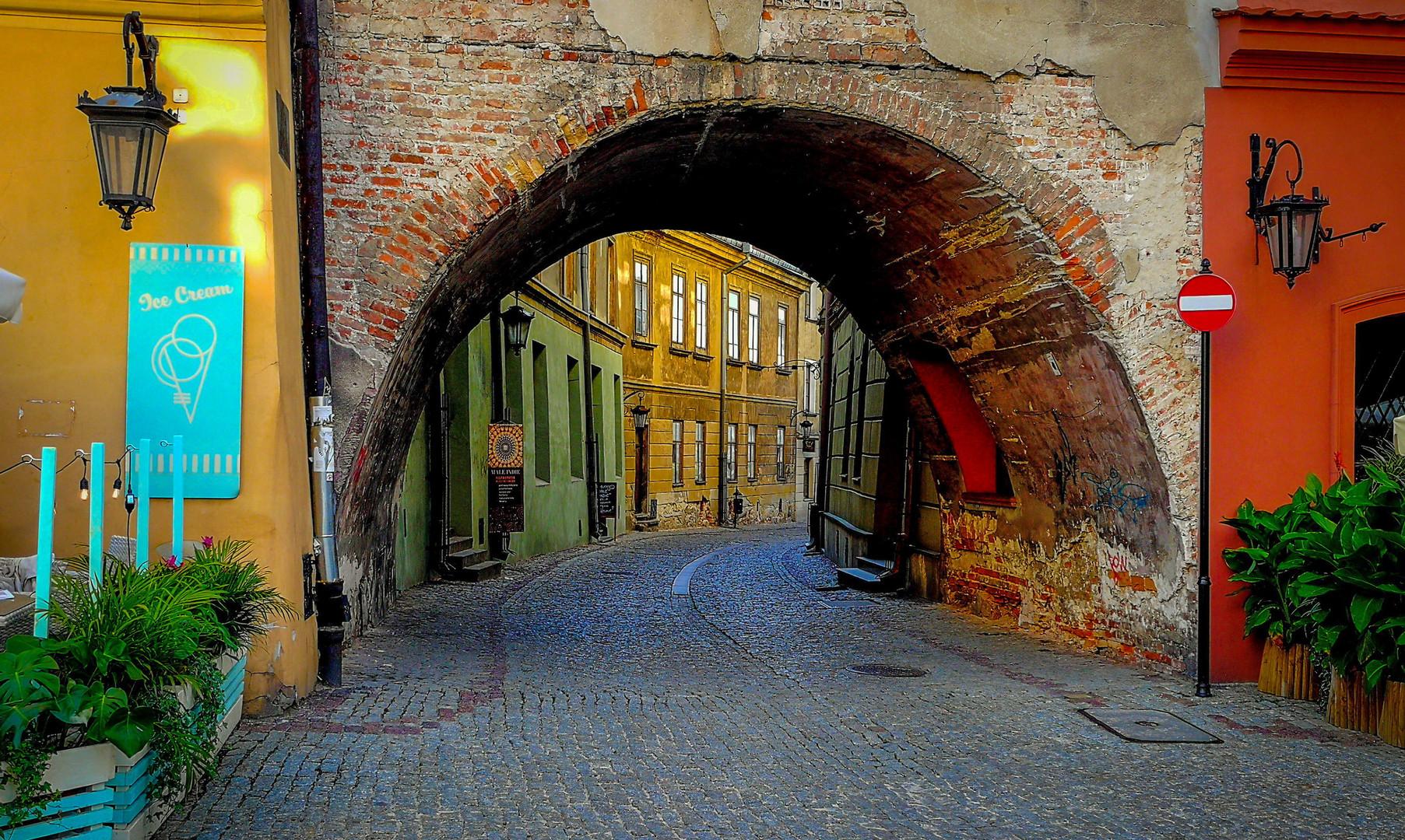 Старый город Люблин