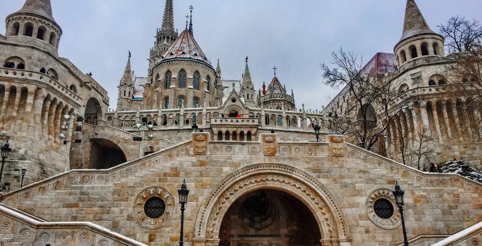 Рыбацкий бастион в Будайской крепости, Будапешт