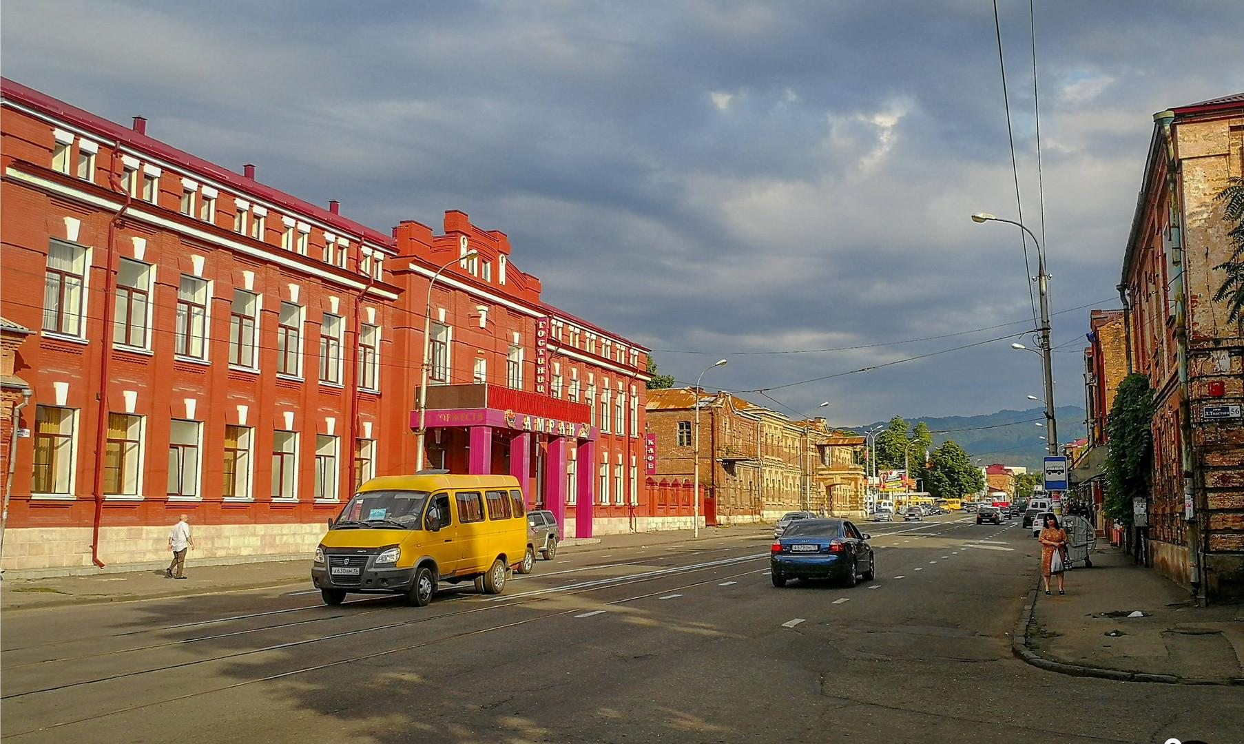 Улица Маркова, Владикавказ