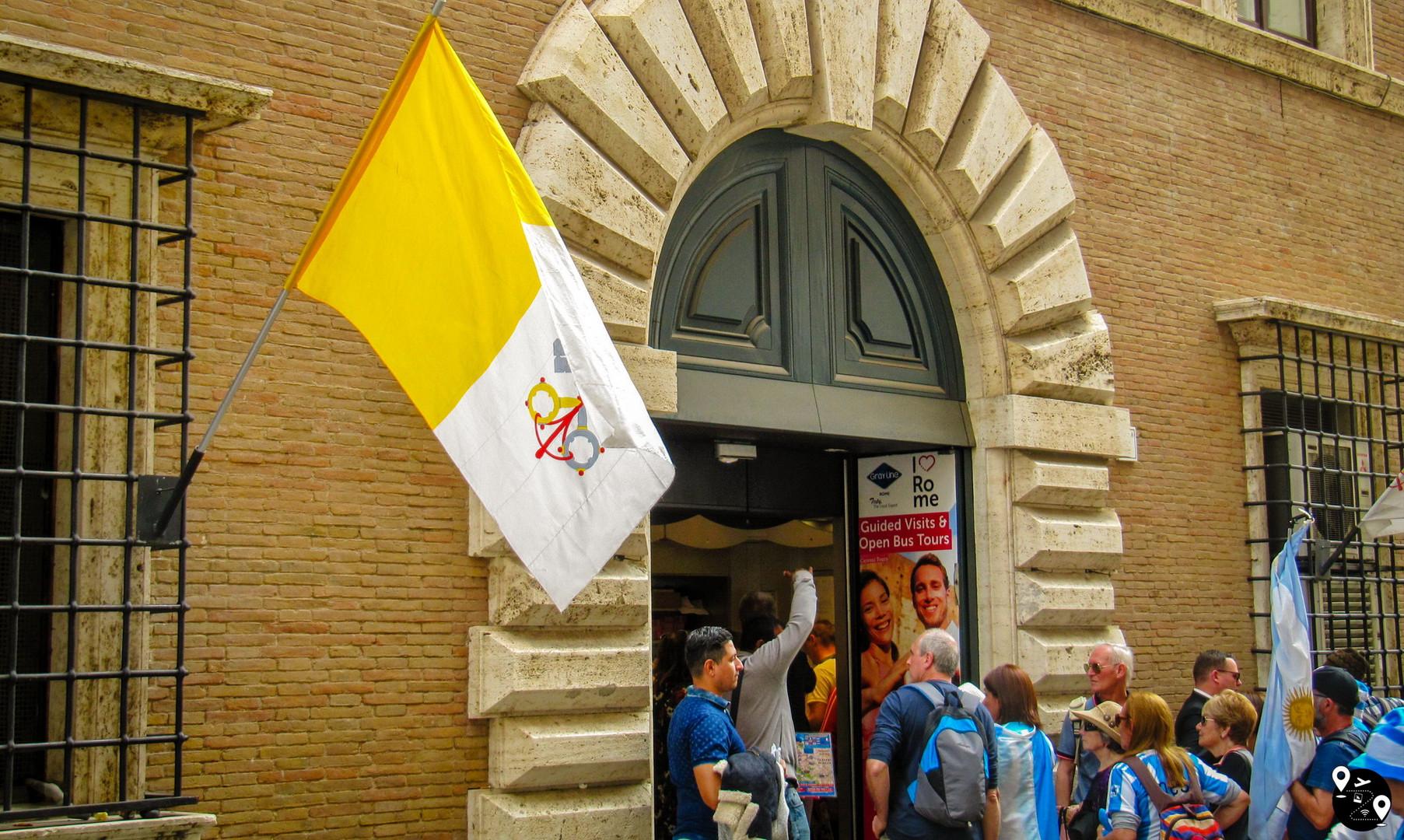 Ватиканская почта, Ватикан