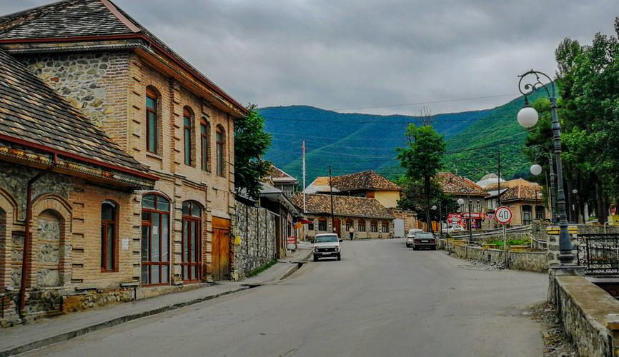 Старый город Шеки