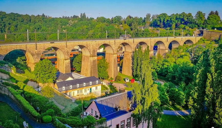 Виадук Кришберга, Люксембург
