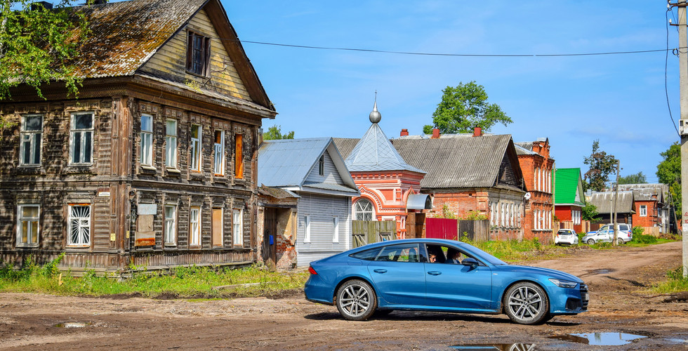 Старый город Осташков