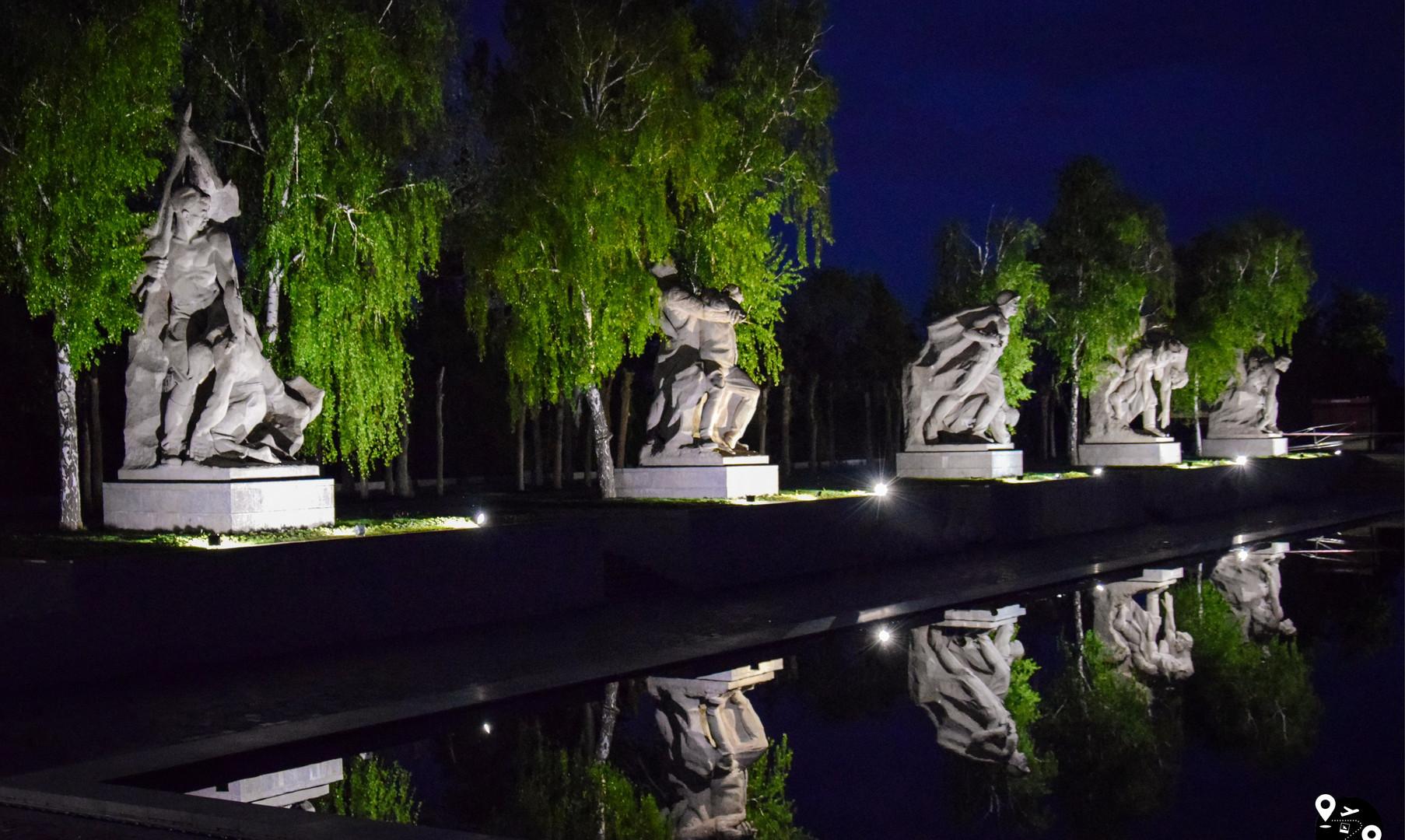 Площадь Героев на Мамаевом Кургане, Волгоград