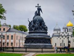 Колокол Тысячелетия в Великом Новгороде