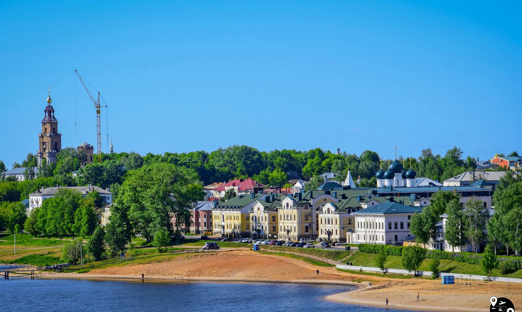 Panorama of Kostroma