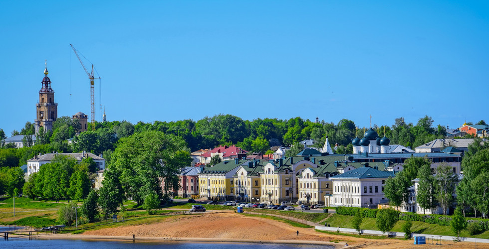 Панорама Костромы