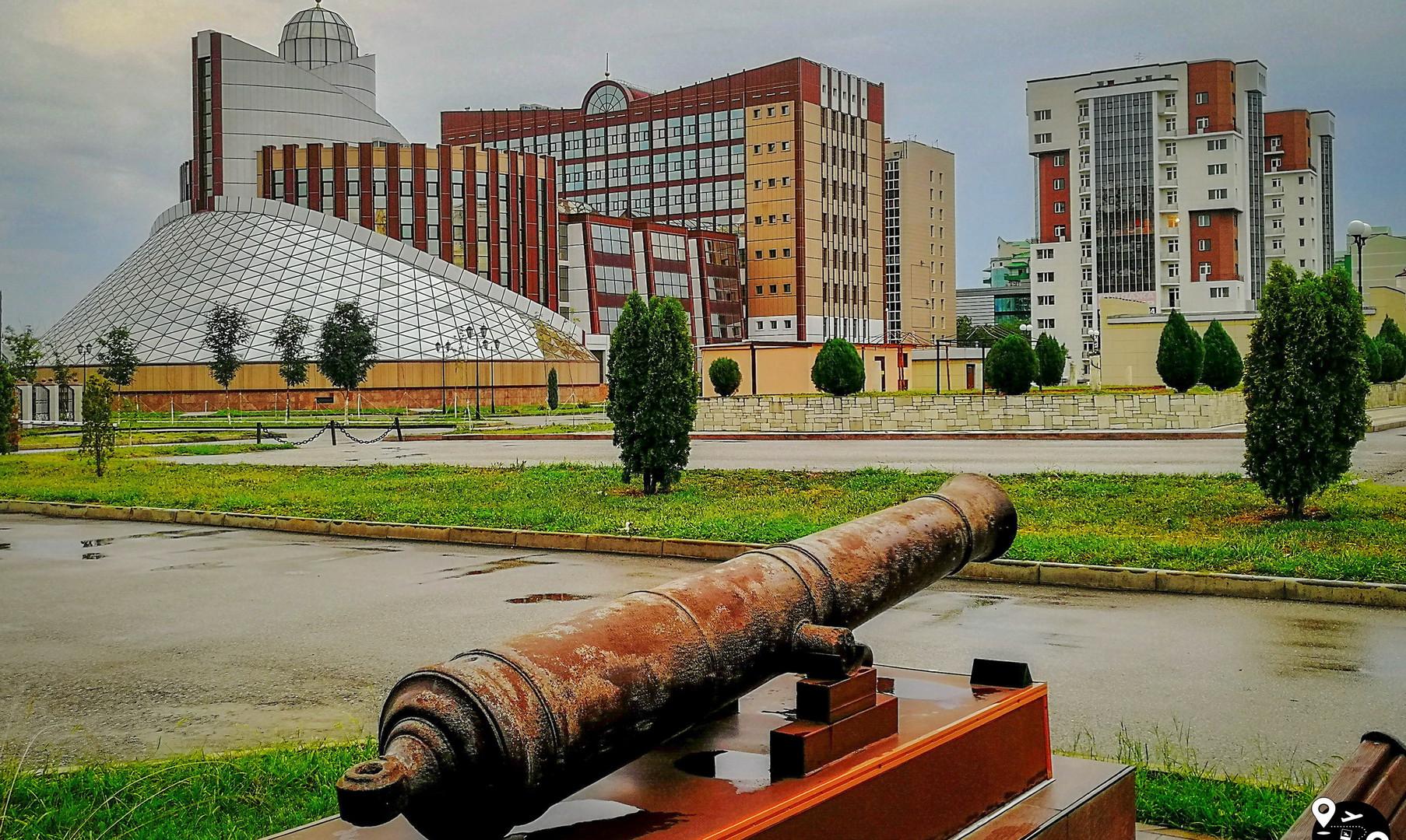Центр города, Грозный