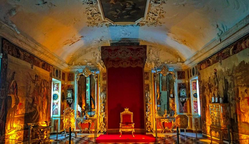 Экспозиция замка Розенборг, Копенгаген