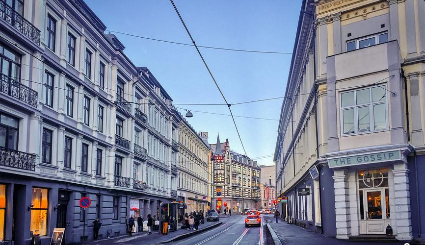Центр города Осло