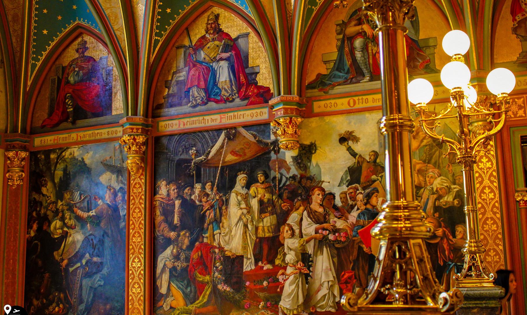 Экспозиция в замке Драхенбург, Бонн