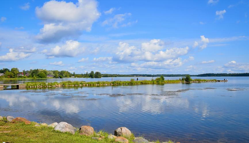 Пейзажи Валдайского озера, Валдай