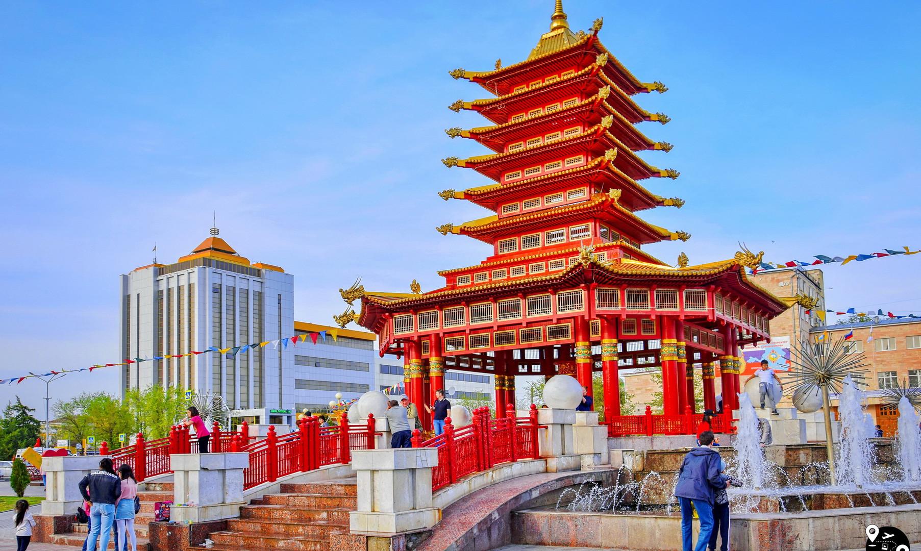 Пагода Семи Дней в Элисте