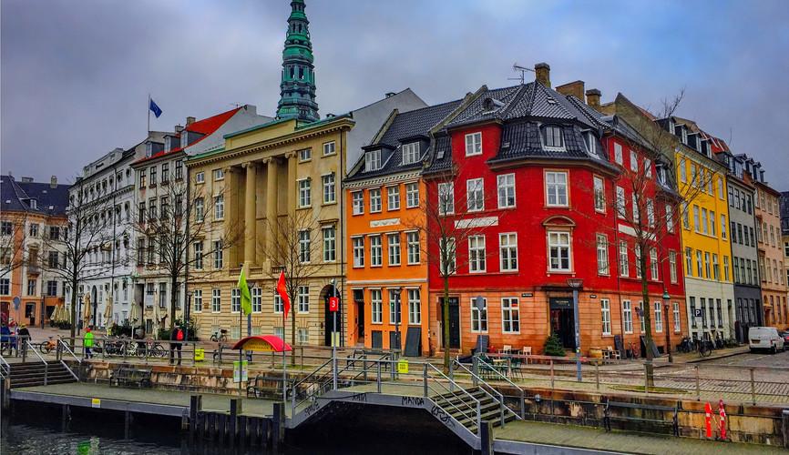 Улицы и каналы Копенгагена