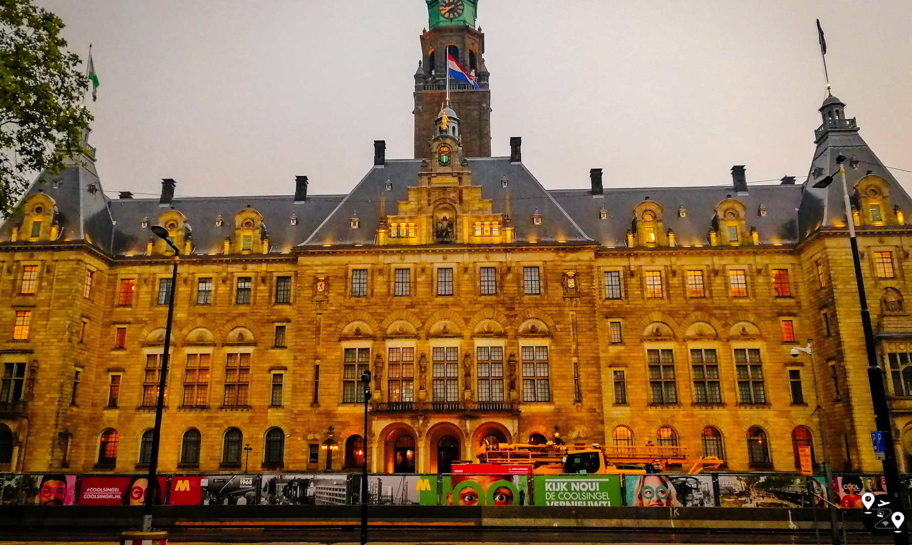 Городская ратуша Роттердама