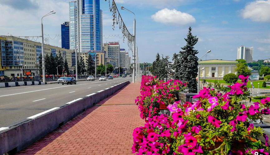 Хлусов мост, Минск