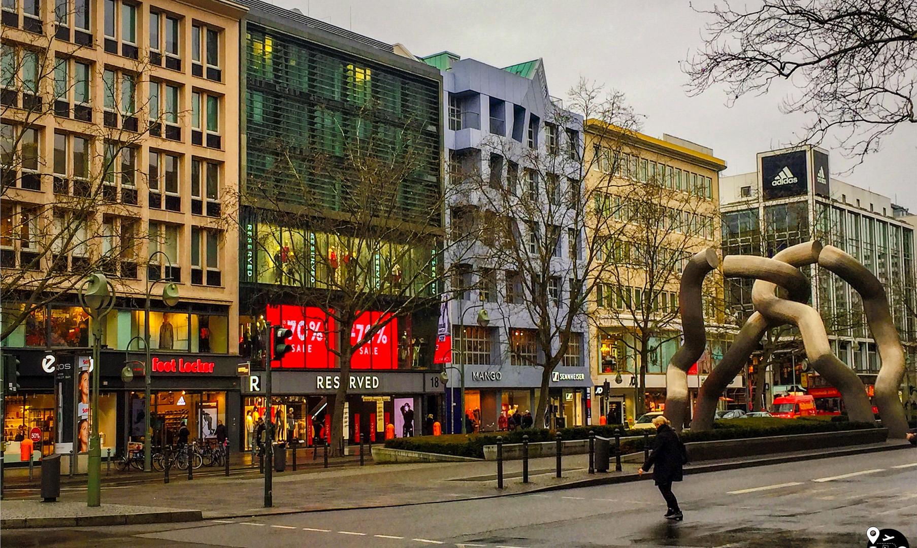 Центр города Берлин