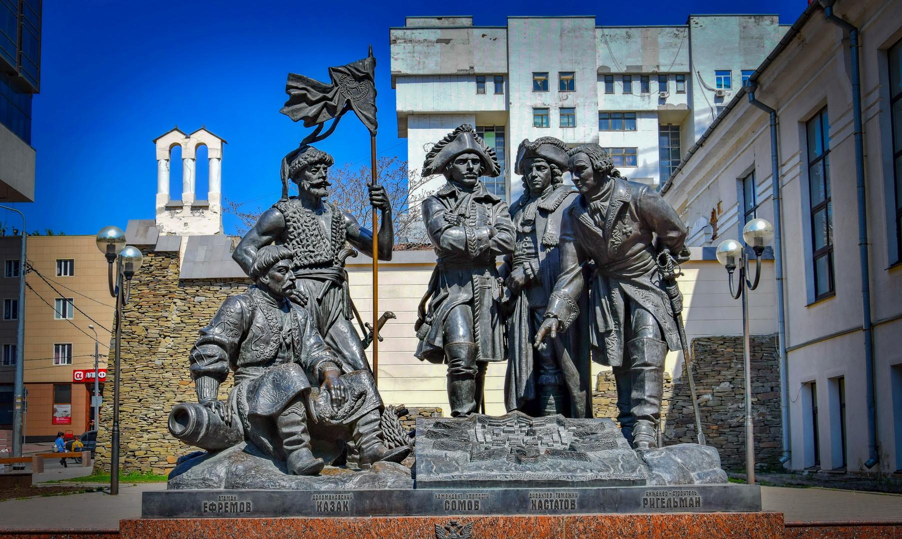 Памятник основателям города, Ростов-на-Дону