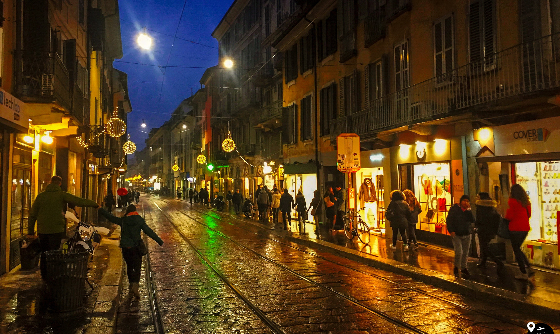 Старый город Милан