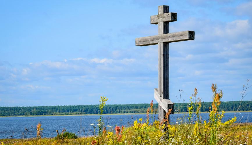 Пейзажи озера Селигер