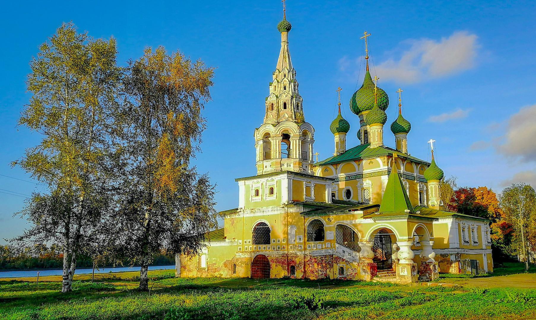 Церковь рождества Иоанна Предтечи, Углич