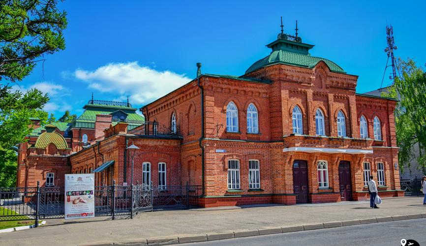 Здание национального балета Костромы