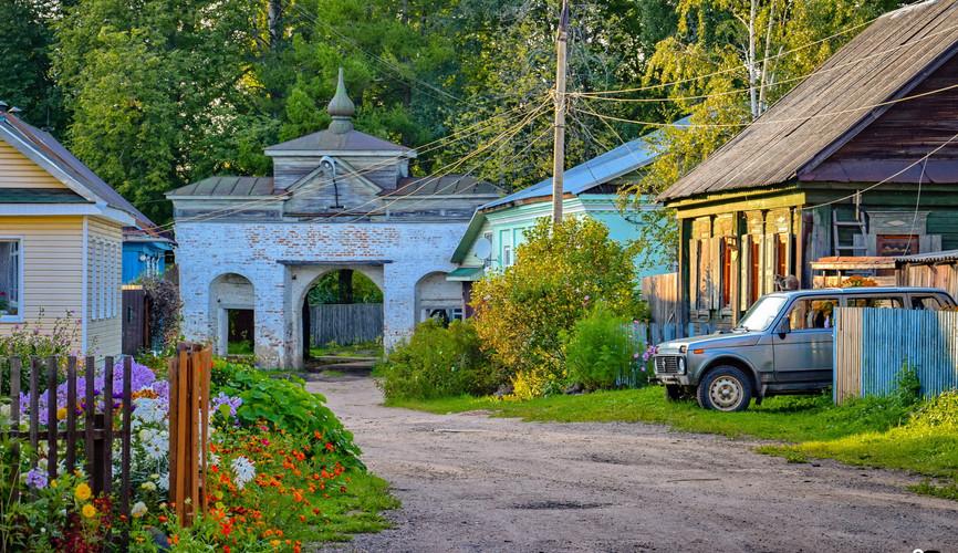 Старый город Осташкова