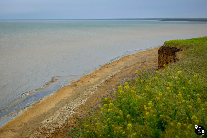 Самое крупное озеро южной России - Маныч-Гудило