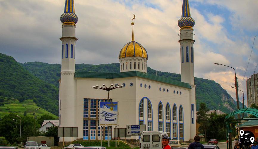 Соборная мечеть, Карачаевск