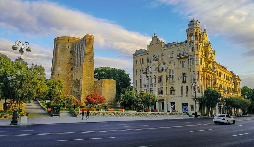 Девичья башня, Баку